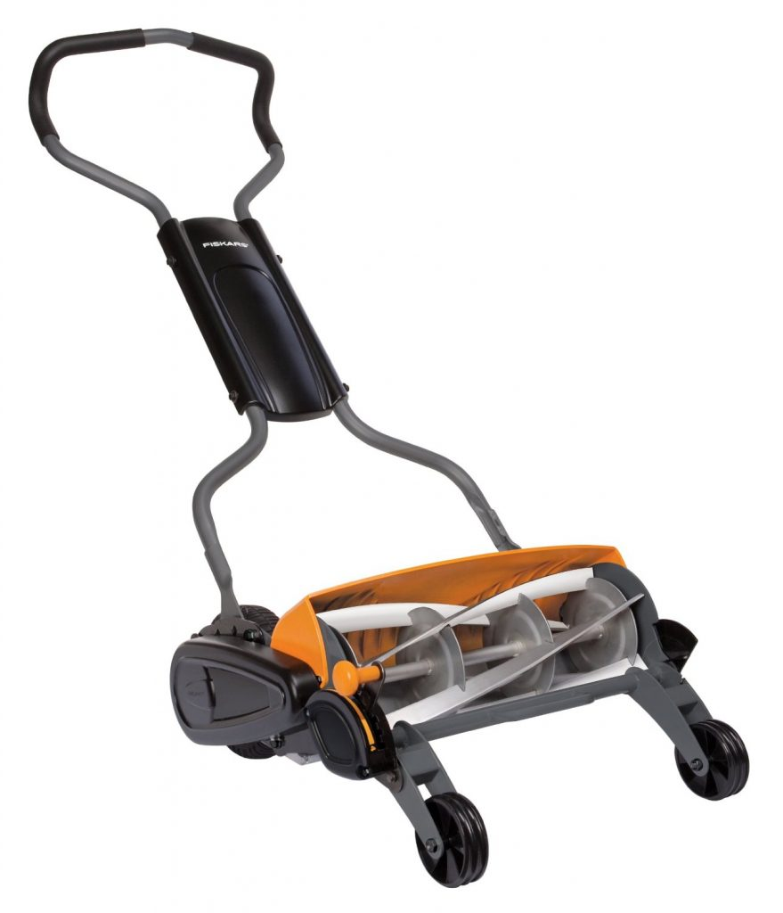 Fiskars 18-Inch Staysharp Max Reel Mower 6201 Review