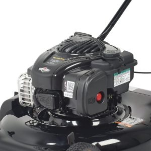 This model runs on a powerful 140cc Briggs & Stratton 500ex series engine