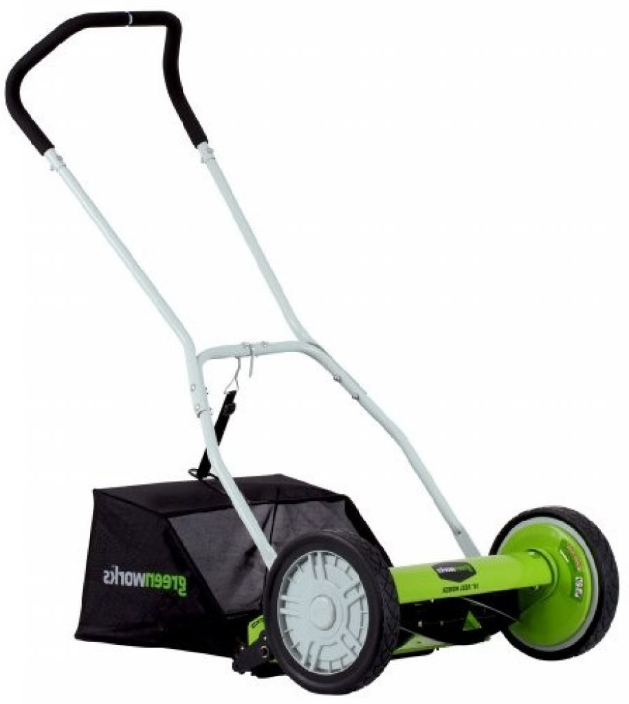 Reel mower Greenworks 25052 model
