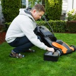 cordless electric lawn mower