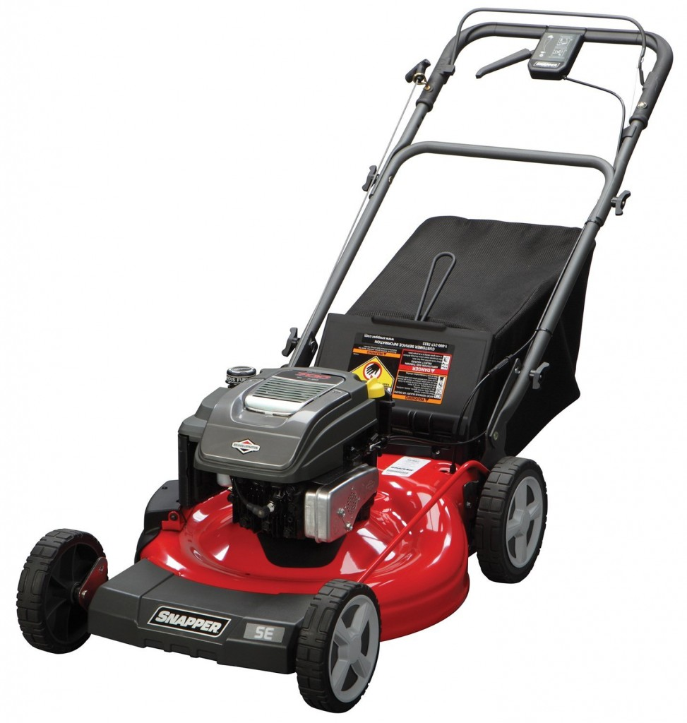 Snapper SP90 21-Inch Rear Wheel Drive Variable Speed Self-Propelled Lawn Mower