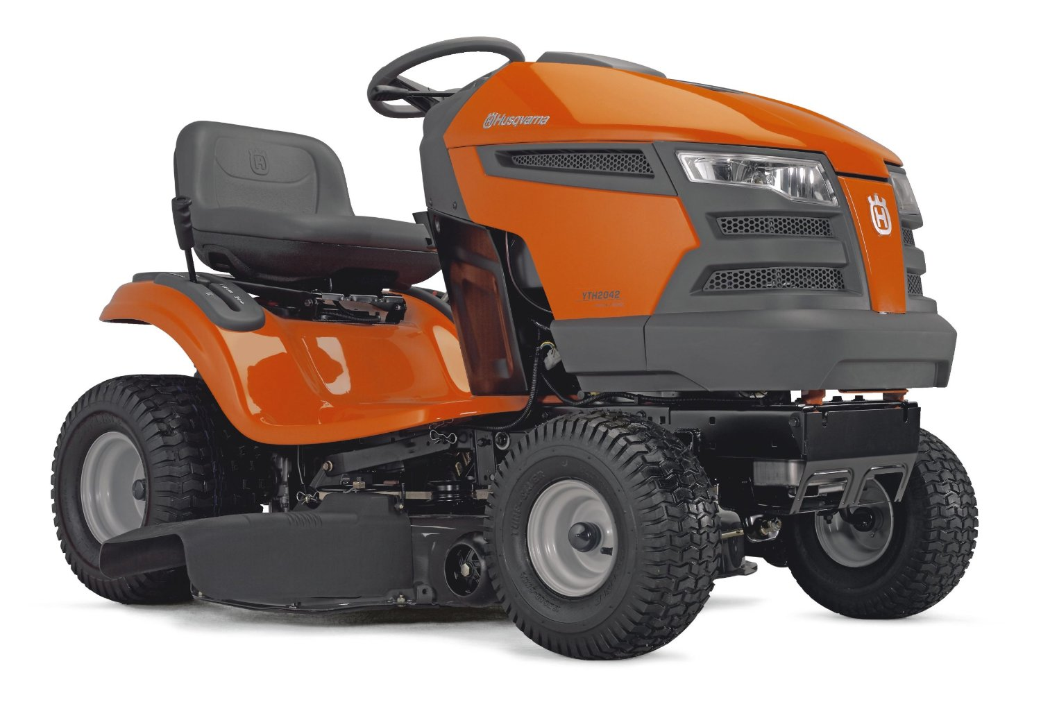Riding Lawn Mower Tractor : Yth husqvarna lawn tractor review top lawnmowers
