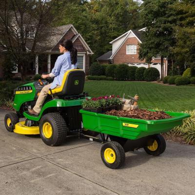John deere lawn mower tractor d125 review for Lawn garden accessories