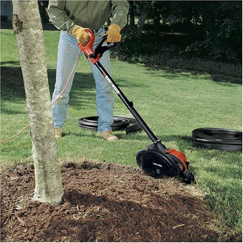 Black decker le750 lawn edger review for Electric hand garden shears