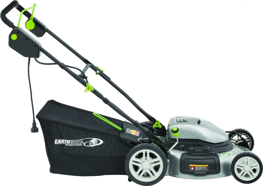 Earthwise 50220 20-Inch 12 Amp Side Discharge:Mulching:Bagging Electric Lawn Mower Review