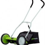 GreenWorks 25052 Reel Lawn Mower with Grass Catcher review