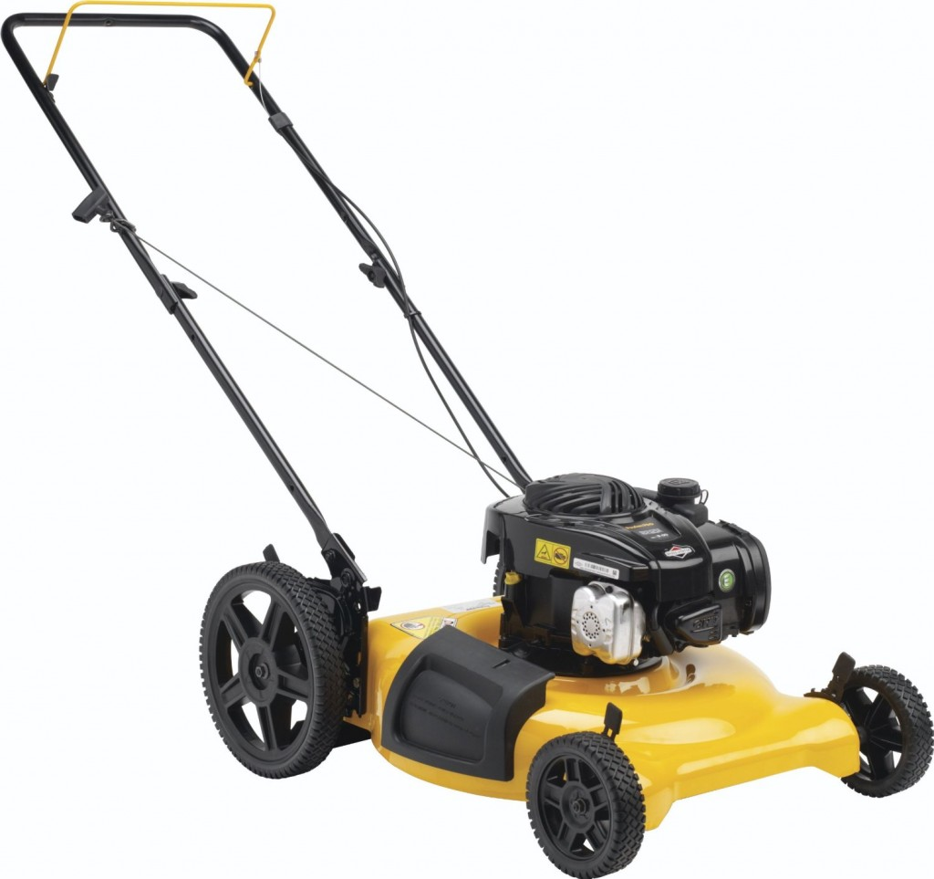what is a petrol mower