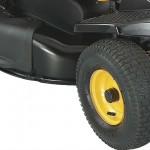 Poulan Rear Engine Mower 96022025 wheel detail