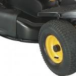 Poulan Rear Engine Mower 96022025 wheel detail