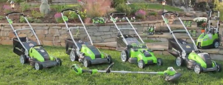 greenworks lawn mowers