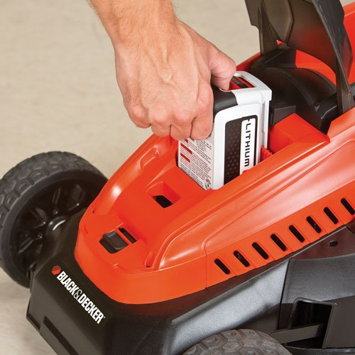 Black & Decker CM1640 Cordless Mower with Lithium Battery