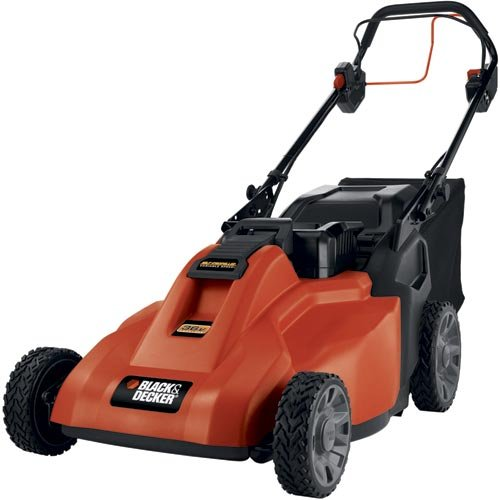 Black & Decker SPCM1936 Cordless Electric Self-Propelled Lawn Mower Review