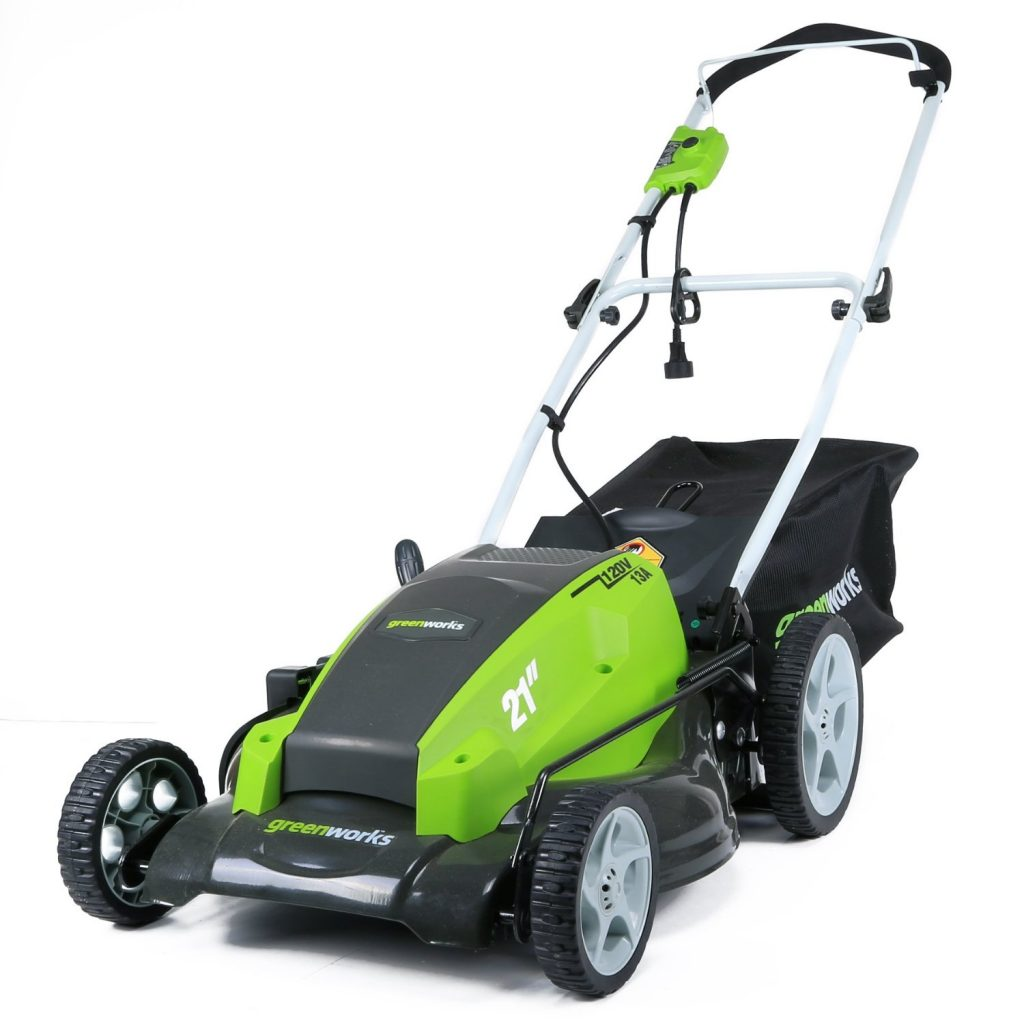GreenWorks 25112 13 Amp 21-Inch Lawn Mower review
