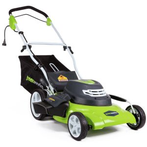 Greenworks 25022 12 Amp 20 3-In-1 Electric Lawn Mower Review