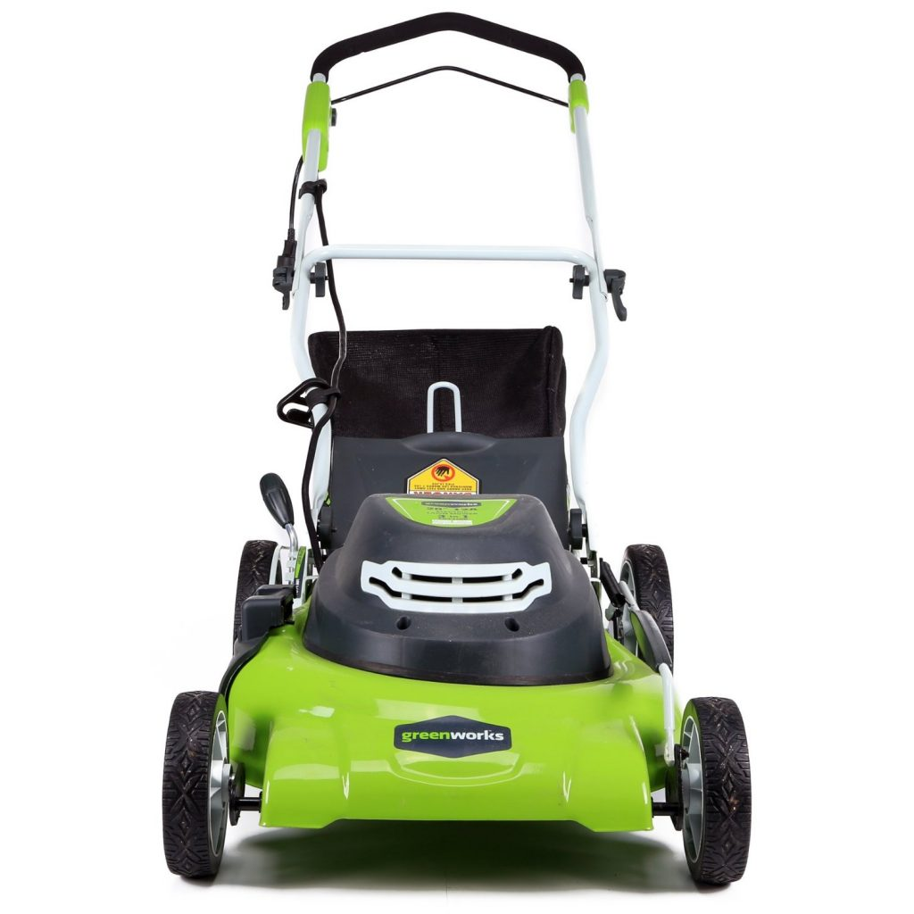 Greenworks 25022 Electric Lawn Mower Review