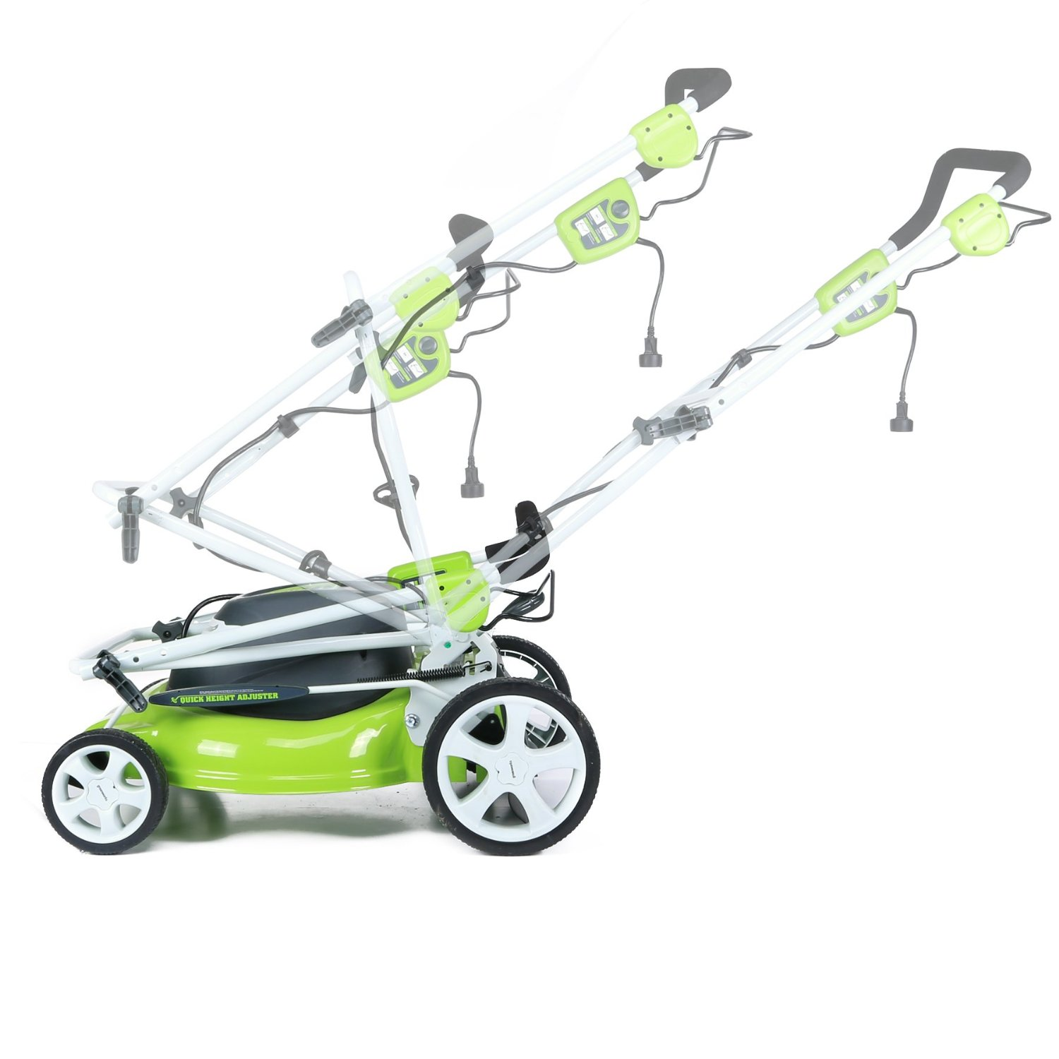 Greenworks 25022 12 Amp 20 3In1 Electric Lawn Mower Review