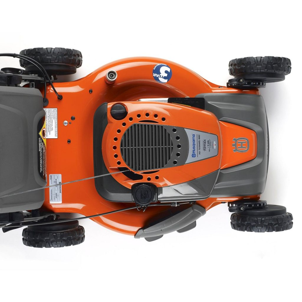 Husqvarna 961430103 HU725AWD with Briggs & Stratton 725ex Engine, CARB Compliant review