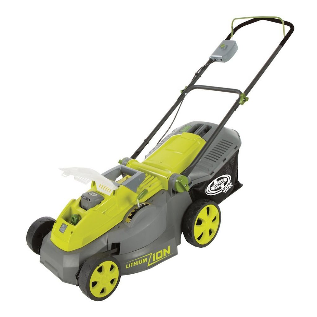 Cordless Electric Lawn Mower- Sun Joe iOn16LM Review