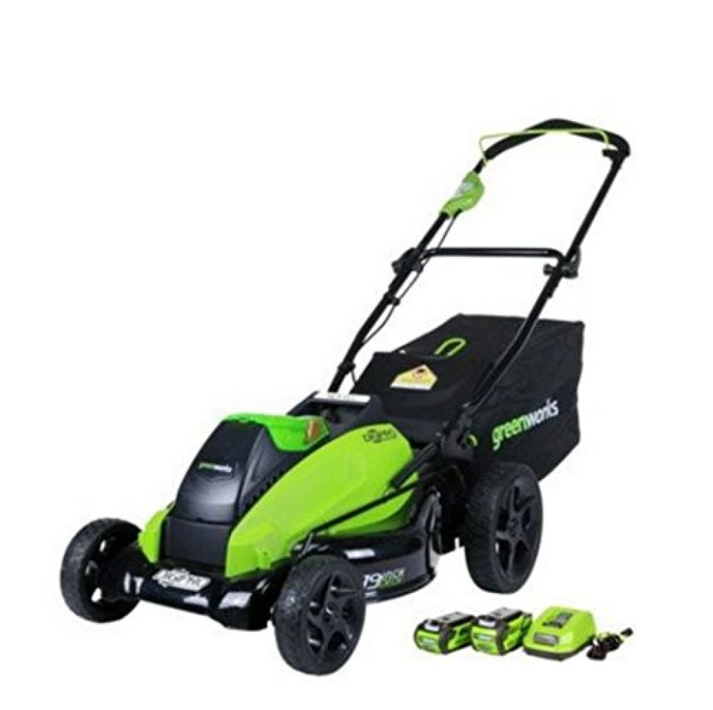 GreenWorks 2500502 DigiPro G-MAX 40V 19-Inch Cordless Lawn Mower
