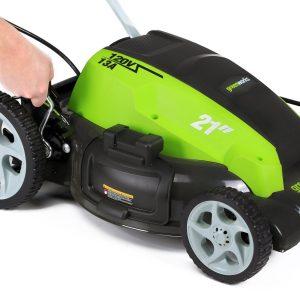 GreenWorks 25112 Height Adjustment