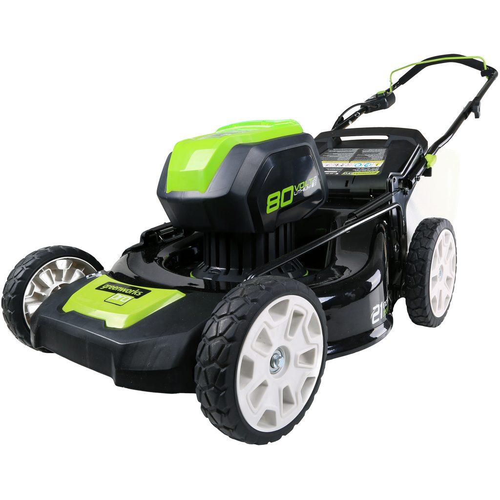 GreenWorks GLM801600 80V 21-Inch Cordless Mower