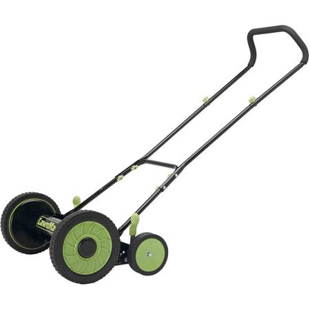 LawnMaster LMRM1601 16-inch Reel Mower Review
