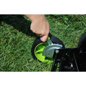 LawnMaster LMRM1601 Height Adjustment
