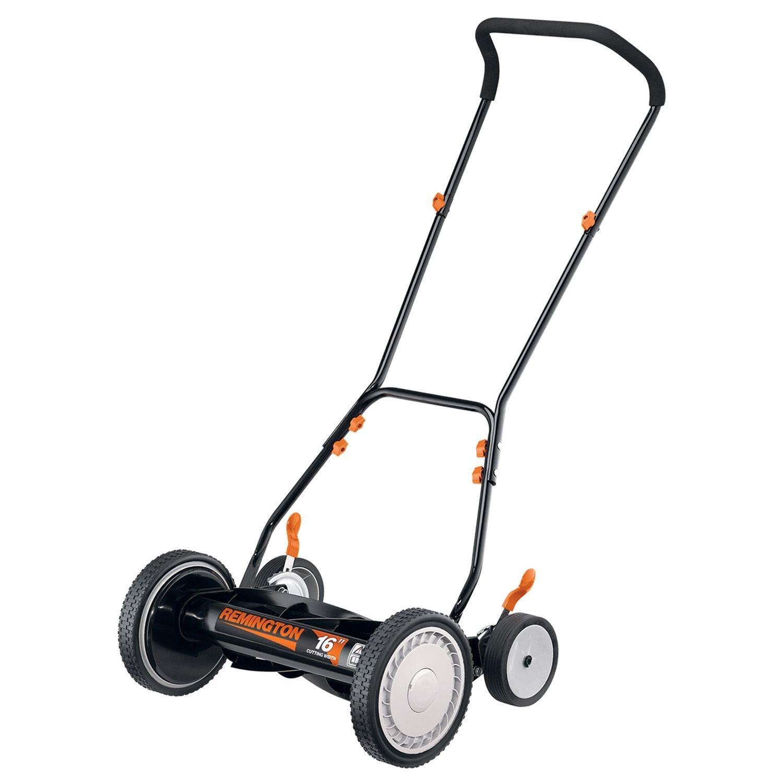 Riding Lawn Mowers Reviews >> Remington RM3000 16-Inch Reel Mower Review - Top5LawnMowers.com