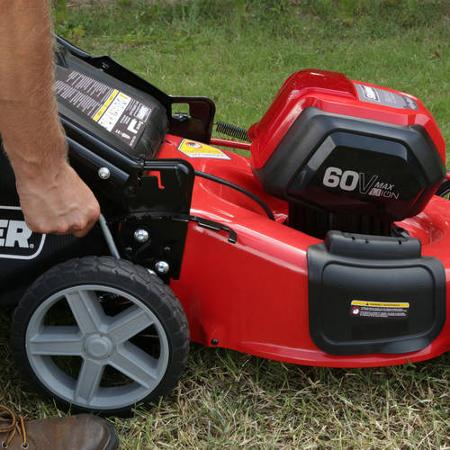 Snapper SP60V 60V Mower - height adjustment