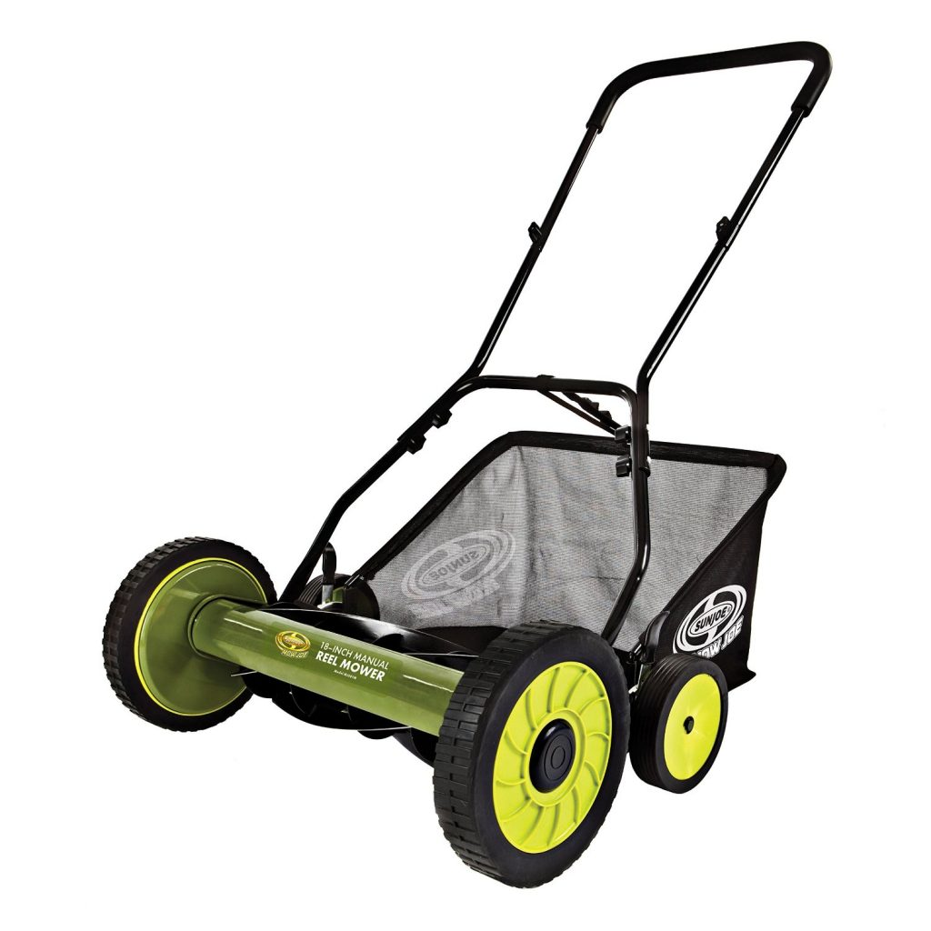 "Sun Joe Mow Joe 18""Manual Reel Mower (MJ501M) Review"