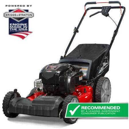Snapper SP80 21 inch Self Propelled Gas Mower with Side Discharge, Mulching, Rear Bag and Rear High Wheel